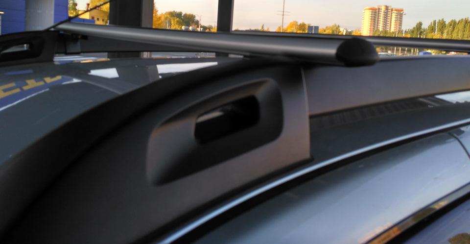 Багажник для Renault Duster 2015 (Айродинамическими дугами ) (Арт.8516)