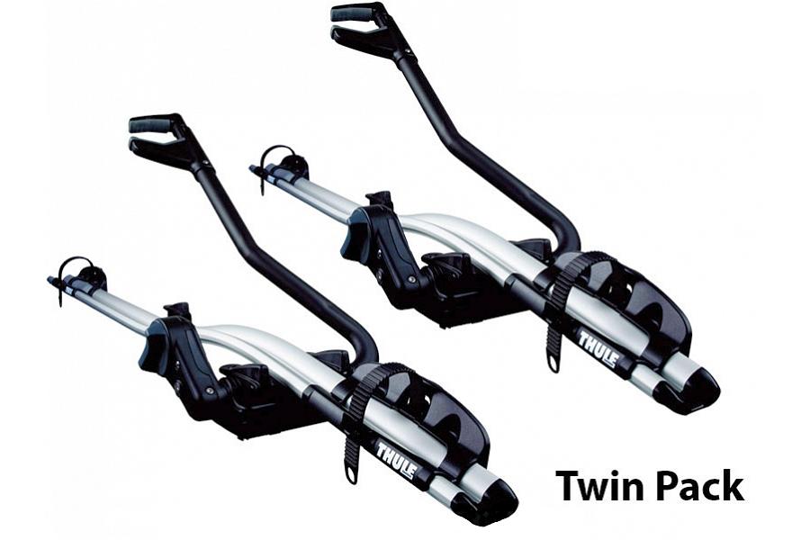 Велокрепление Thule ProRide Twin Pack (2 шт.) на крышу автомобиля