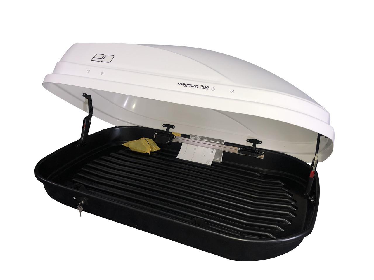 Автобокс Евродеталь Magnum 300 белый матовый