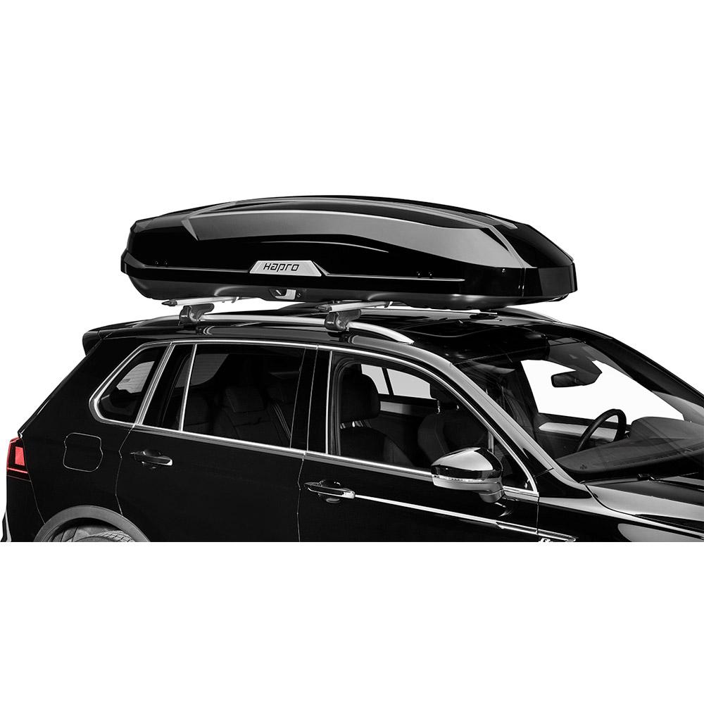 Автомобильный бокс Hapro Trivor 640 черный глянец