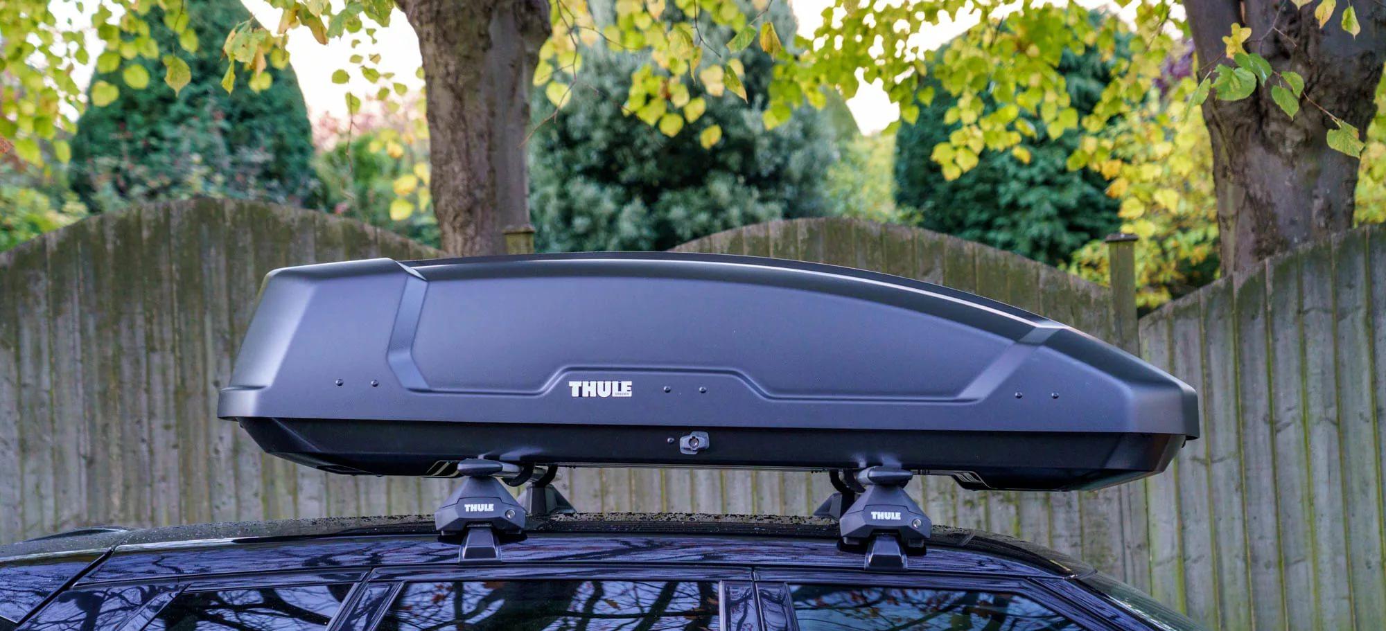 Автомобильный бокс Thule Force XT M ( 200 ) Чёрный матовый