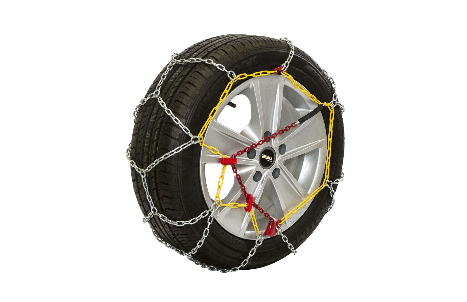Комплект цепей противоскольжения Taurus Diament (12 мм) 50 ( звено ДСЗ 3,55мм ) с защитой литых дисков, Цепи на колёса Taurus Diament TDIA1250