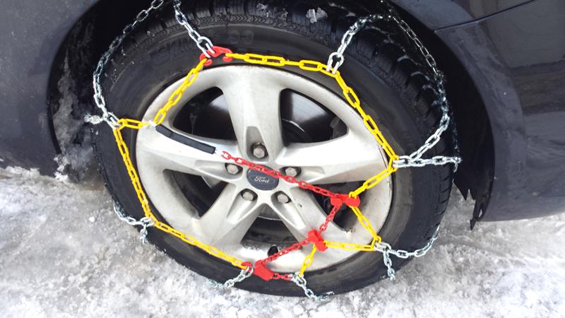 Комплект цепей противоскольжения Taurus Diament (12 мм) 70 ( звено ДСЗ 3,55мм ) с защитой литых дисков, Цепи на колёса Taurus Diament TDIA1270