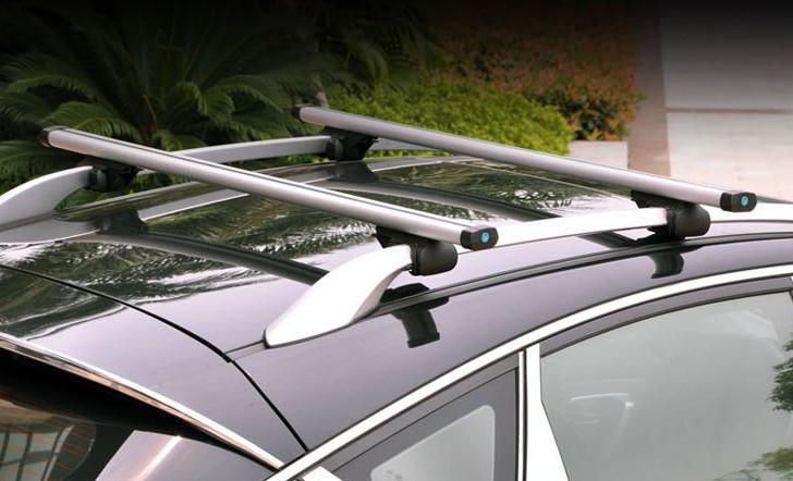 Багажник на рейлинги Aoling X01-127 Аэродинамическими поперечинами 127 см