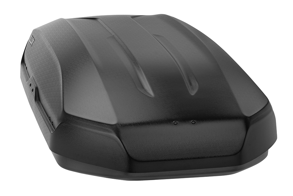 Бокс LUX TAVR 175 черный матовый 450L (1750х850х400) (арт. 791040)