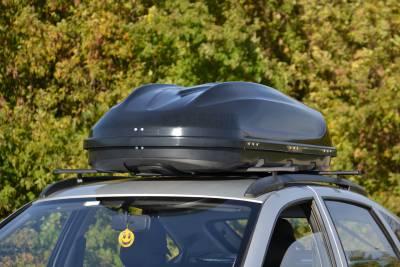 Автомобильный бокс на крышу Turino Compact 'Черный матовый ONE (Арт.1717)