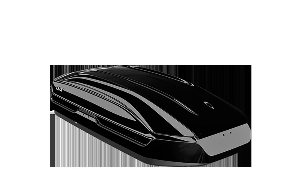 Бокс LUX TAVR 175 черный глянцевый 450L с двустор. откр. (1750х850х400) (арт. 791057)