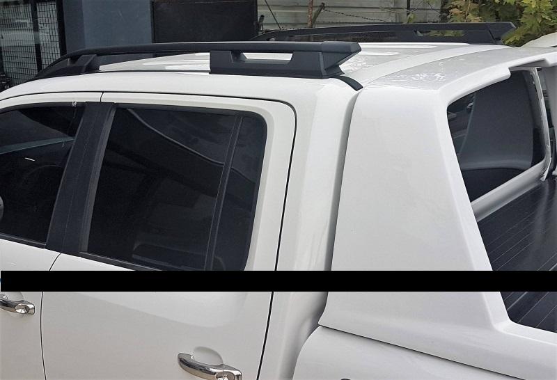 Рейлинги Can Otomotiv TOHI.73.0000 продольные Falcon ( Широкие ) для TOYOTA HILUX BLACK ( Тойота хайлюкс )
