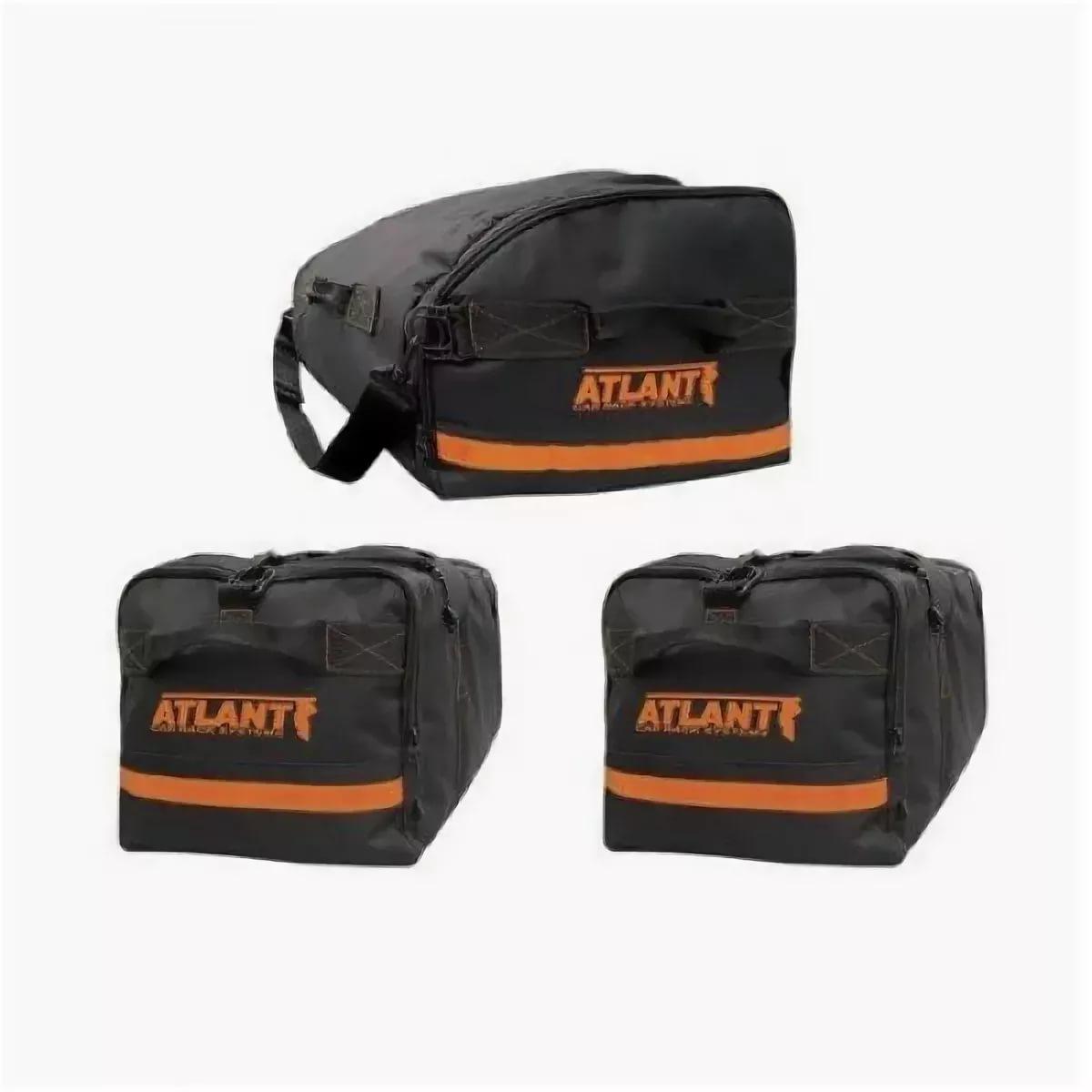Комплект сумок Атлант (1+2) в автобокс (Для бокса от 140см)