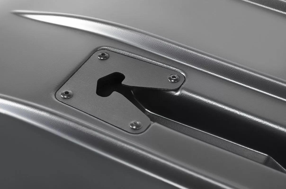 Автобокс Broomer Venture  (L) Чёрный матовый без усилителя  430л (1870 х 890 х 400) - 146.01