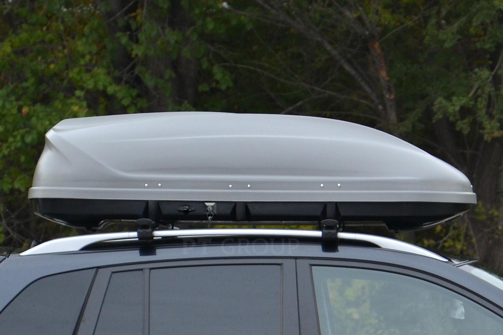 Автомобильный бокс на крышу Turino 1 Серый матовый DUO (Арт.2502)