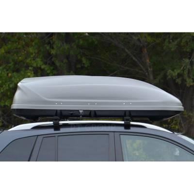 Автомобильный бокс на крышу Turino 1 Lux DUO Серый глянец  (Арт.2514)