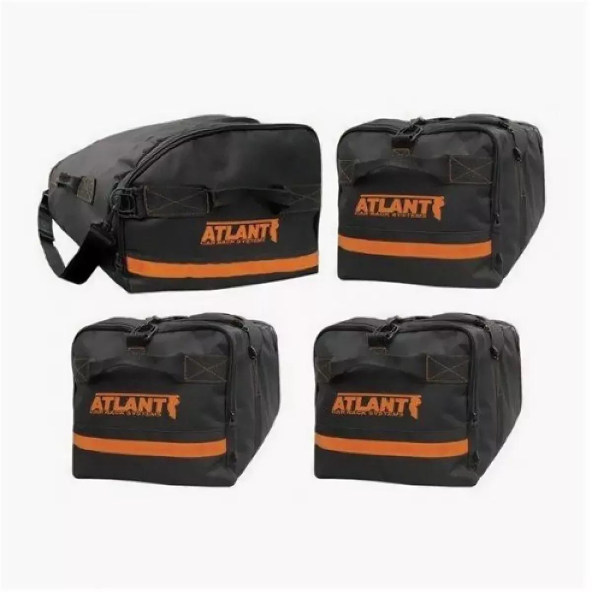 Комплект сумок Атлант (1+3) в автобокс (Для боксов от 165-175см)