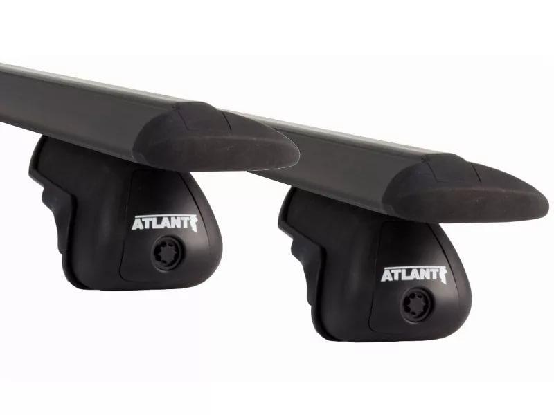 Атлант ( Atlant ) 6031 - Комплект ( 2 шт ) алюминиевых КРЫЛОвидных аэродинамических поперечин чёрного цвета ( 6031 ) - L=126 см