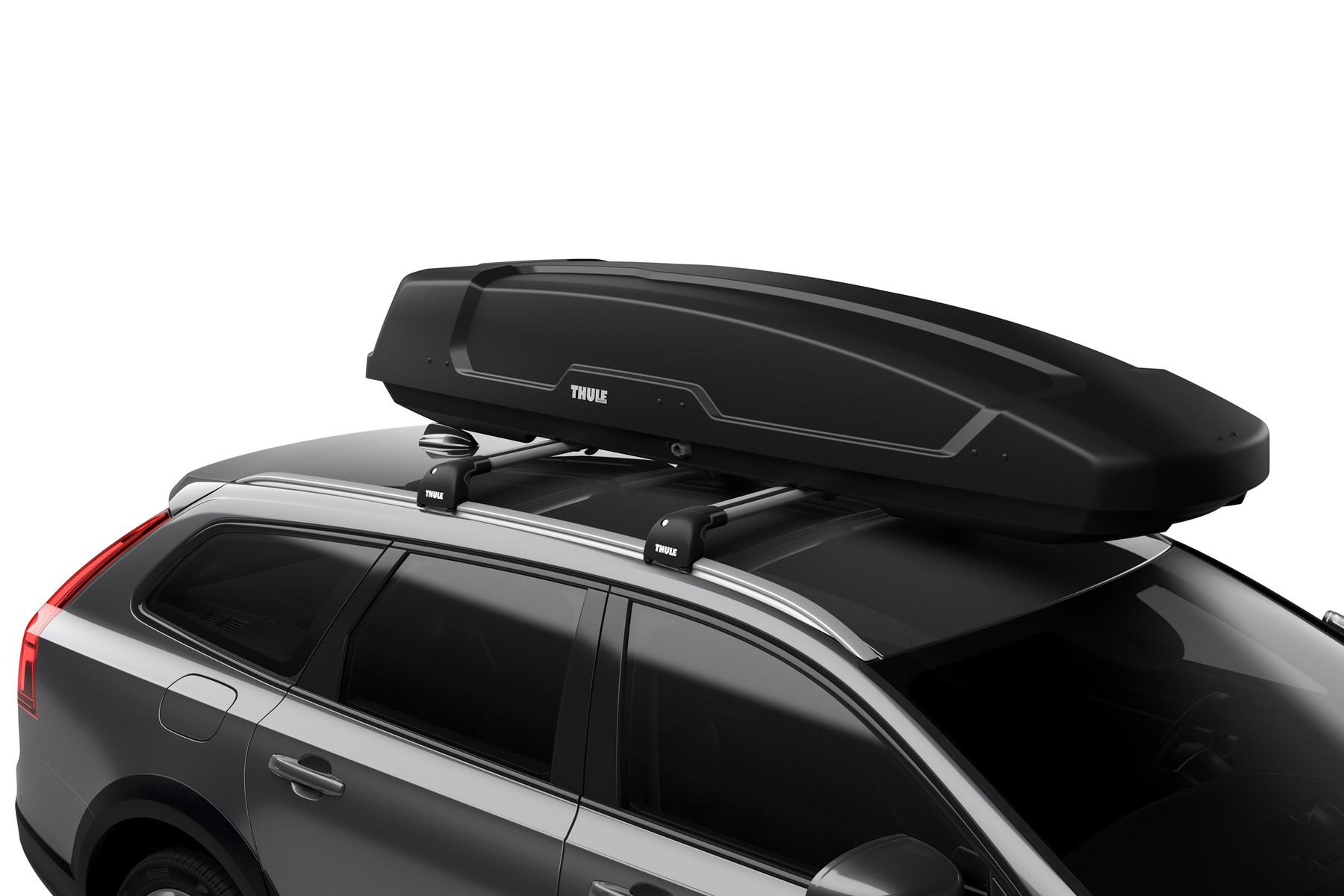 Автомобильный бокс Thule Force XT Alpine ( 700 )  Чёрный матовый NEW 2018