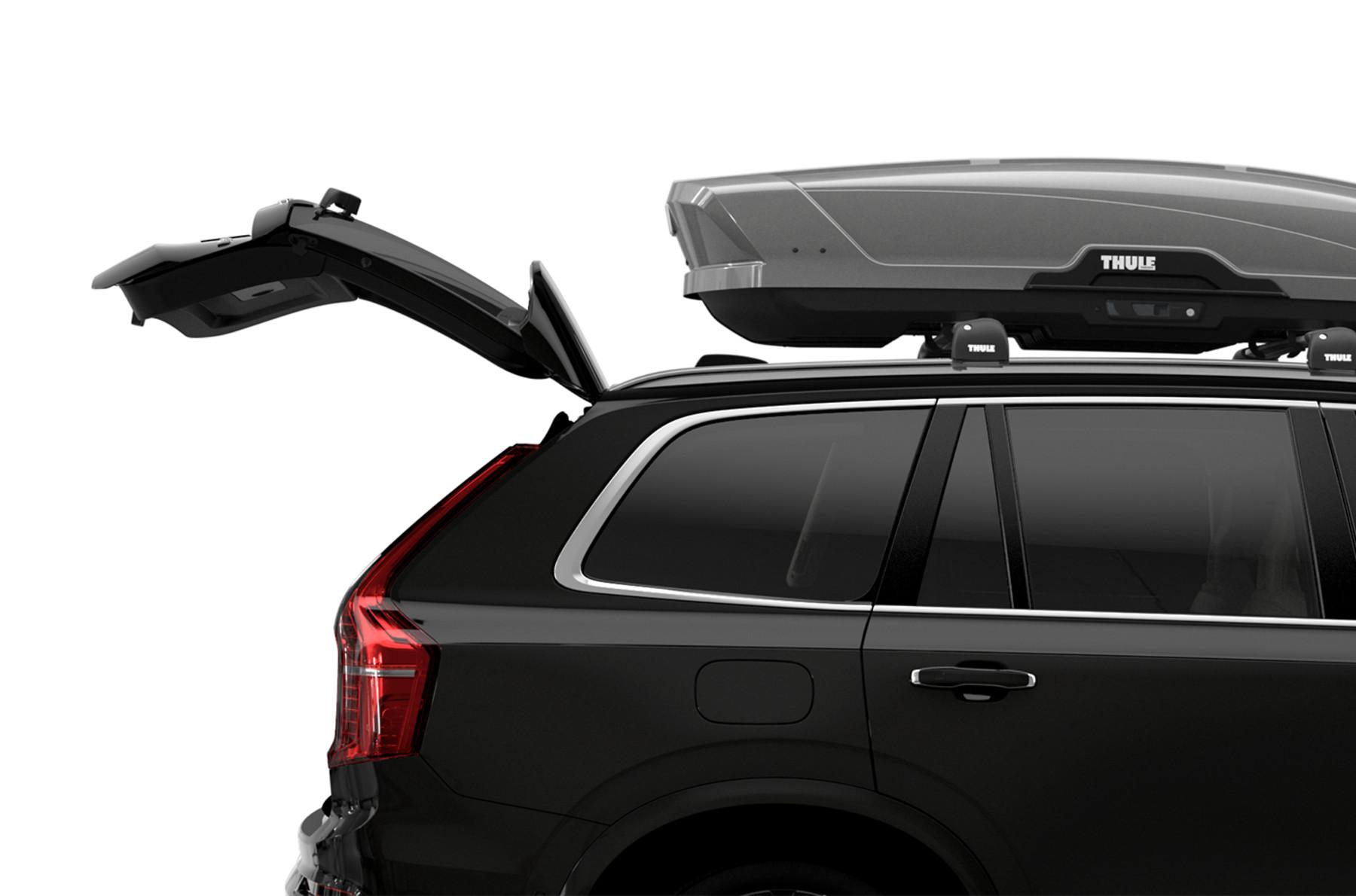 Автобокс Thule Motion XT Alpine Titan ( Серый глянцевый )