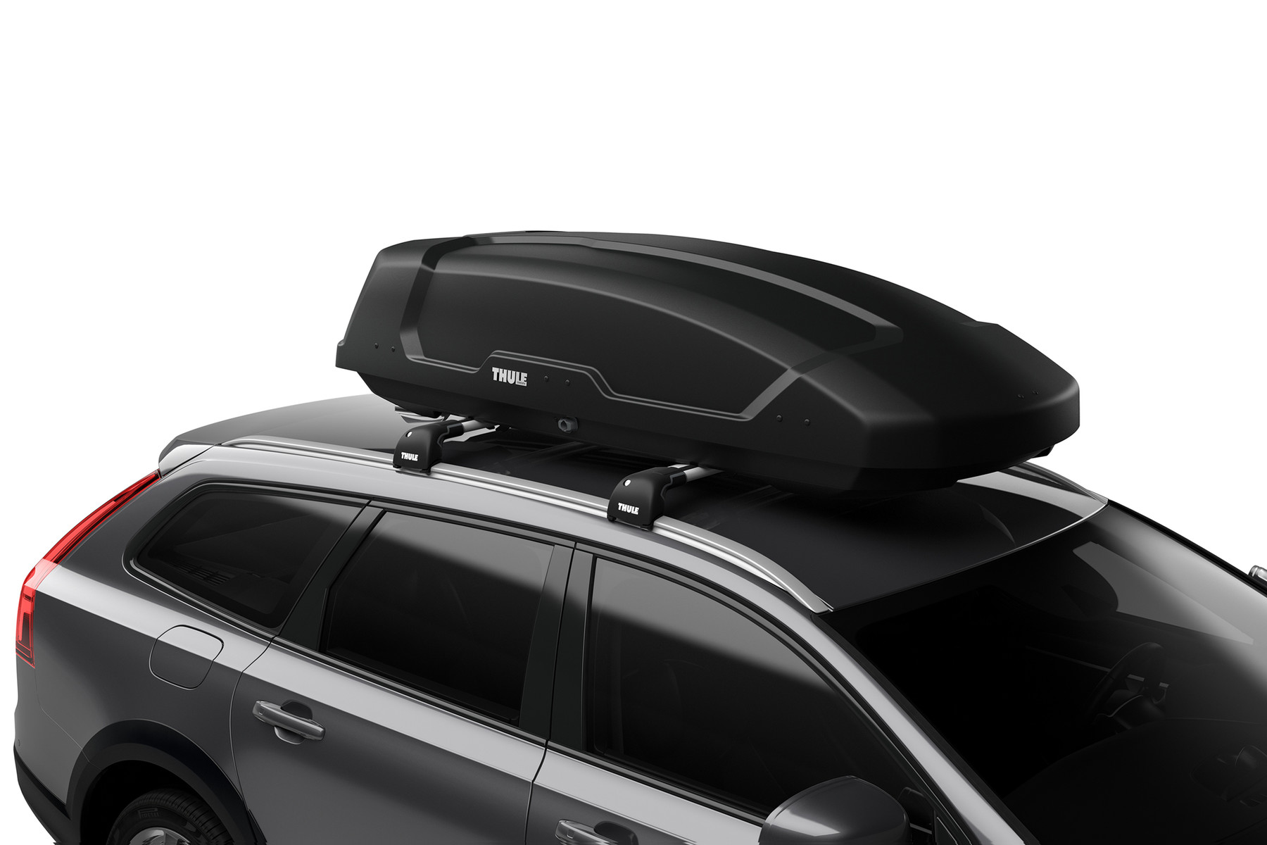 Автобокс Thule Force XT L - 450 antracite aeroskin ( под карбон )