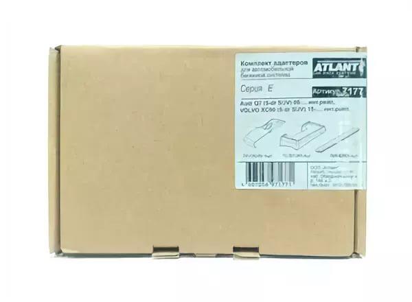 Комплект адаптеров Atlant 7177 для Audi Q7 (2005-…) инт. рейлинги к багажнику Atlant