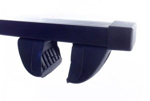 Багажник на рейлинги Inter Крепыш c прямоугольными дугами 130 см