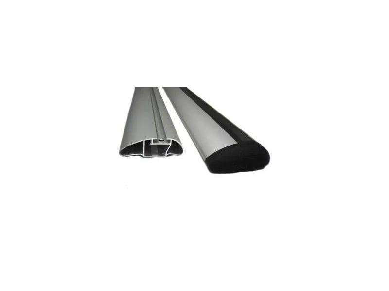 Атлант ( Atlant ) 8824 - Комплект ( 2 шт ) алюминиевых КРЫЛОвидных аэродинамических поперечин серого цвета ( 8824 ) - L=126 см