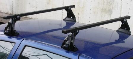 Багажник для ВАЗ 2110, 2112 (эконом., стальная дуга) арт.8906