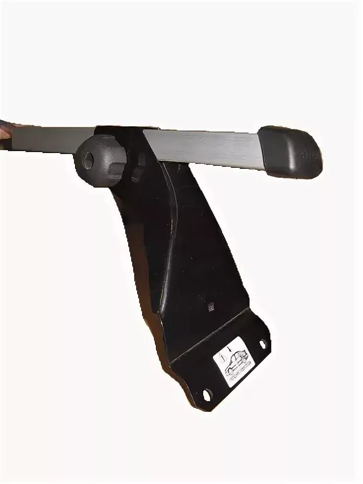 Багажник для Renault Logan (эконом-класс, без опоры на крышу, алюмин.), арт.8909