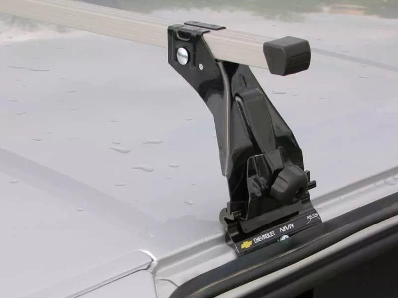 Багажник для Chevrolet Нива (эконом-класс, алюм.), арт.8915