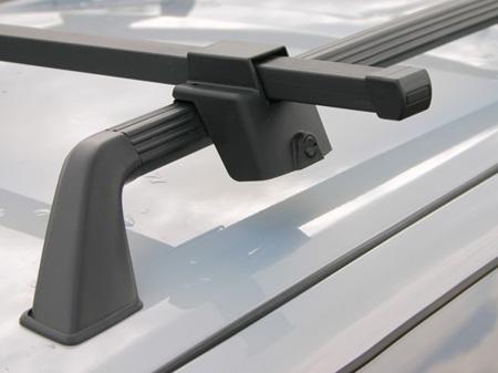 Багажник эконом-класса на рейлинги, длина 1350 мм. (сталь), арт.8916