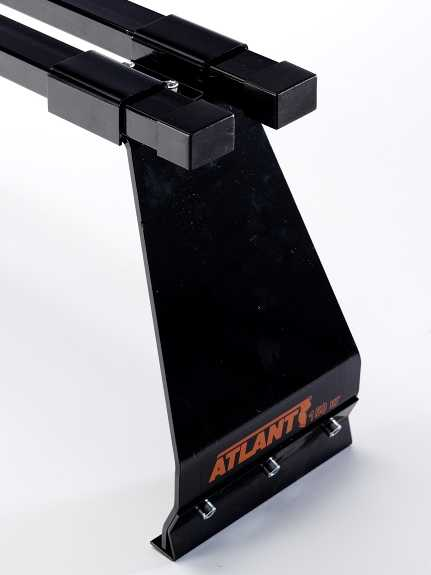 Багажник Atlant на водостоки L=170 см (высокий)