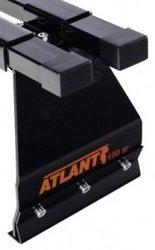Комплект опор Атлант 8926  (2 опоры) на микроавтобусы и внедорожники с водостоком (высота крыши до 190 мм)
