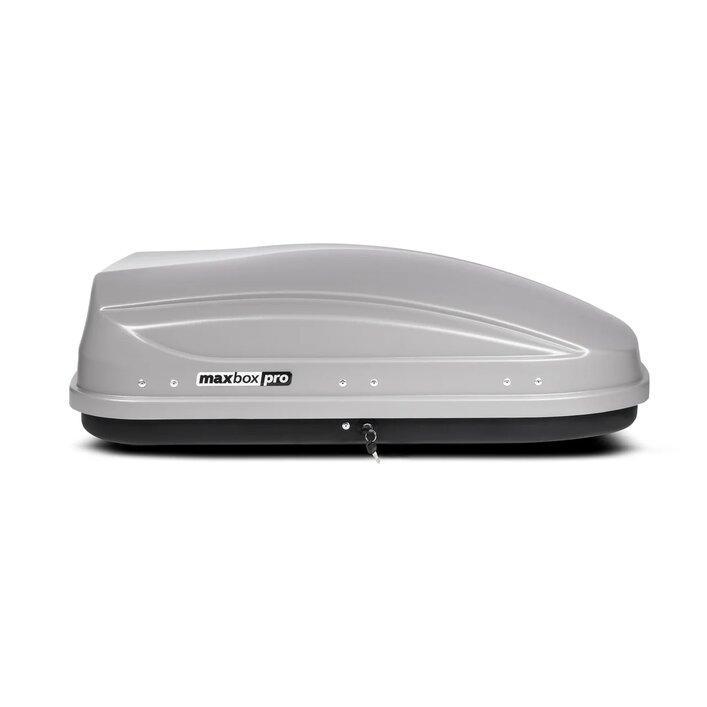 Автомобильный бокс MaxBox Pro 400 серый матовый ( Тиснение / шагрень )