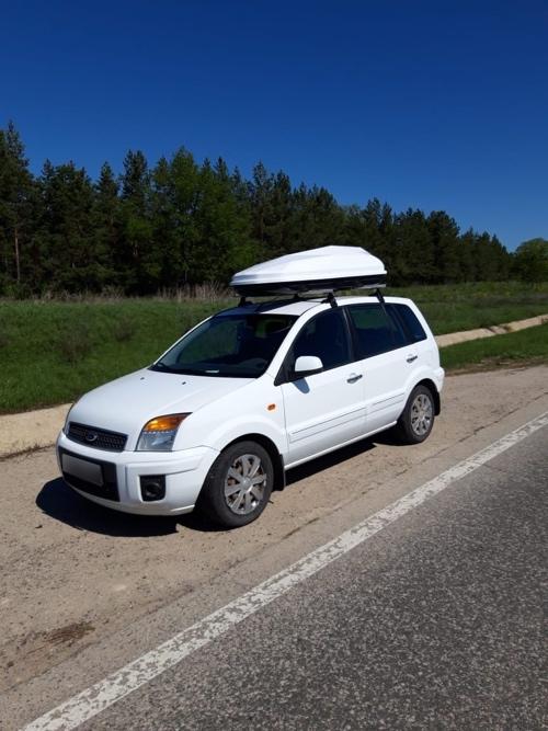 Автобокс Diamond 440 Белый ( 182х83х42см ) двухстронний усиленный