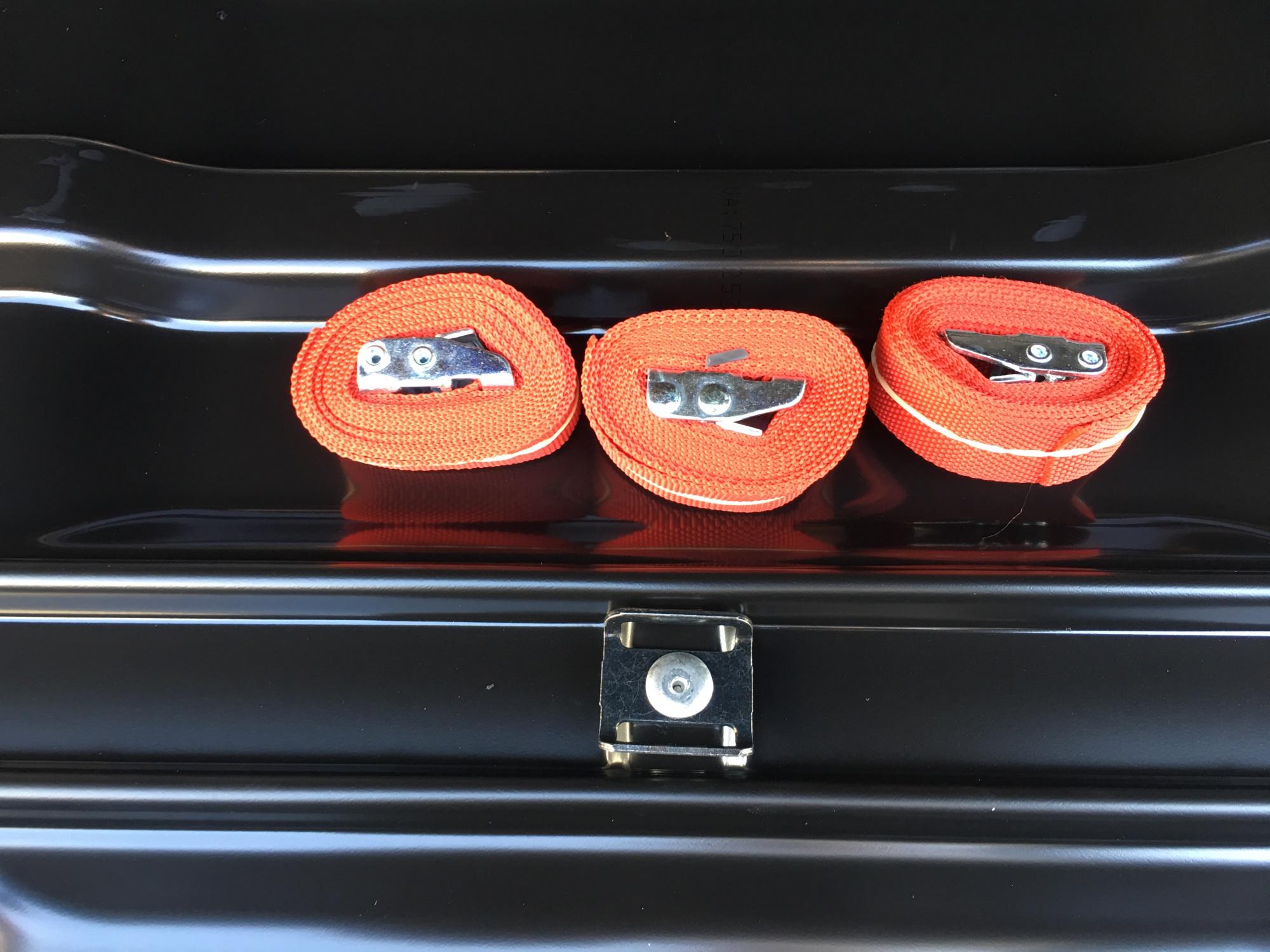 Автомобильный бокс Hapro Traxer 6.6 черный 191x81x42 см (Арт.35908)