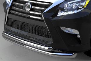 Защита переднего бампера Lexus GX460 (2014-) (двойная) d 76/60