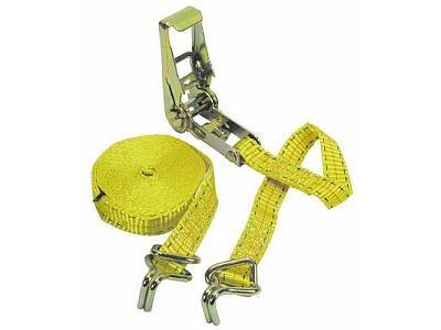 Крепежный ремень с лебедкой и крючками (L=500 см)