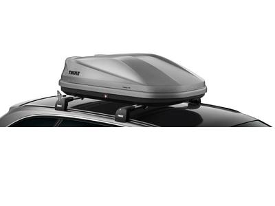 Автомобильный бокс Thule Touring 100 титан aeroskin (серый) 2-х сторонний