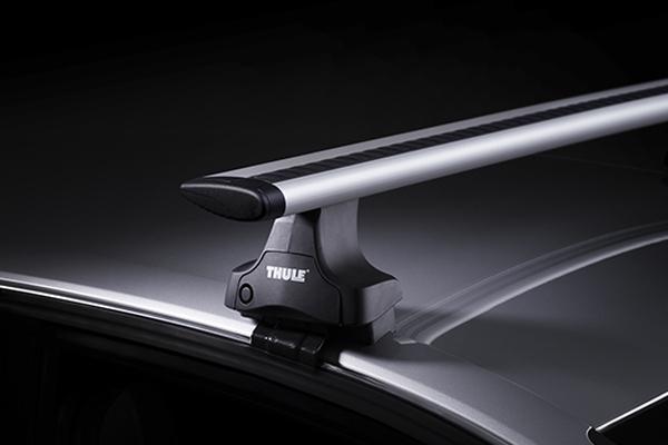 Упоры Thule Rapid System 754  для автомобилей с гладкой крышей