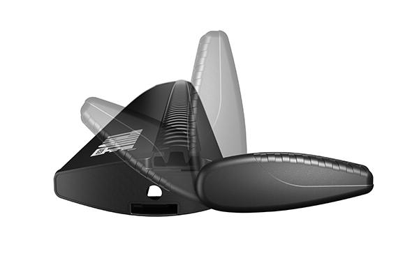 Комплект дуг Thule WingBar 961-2 (черные) 120 см