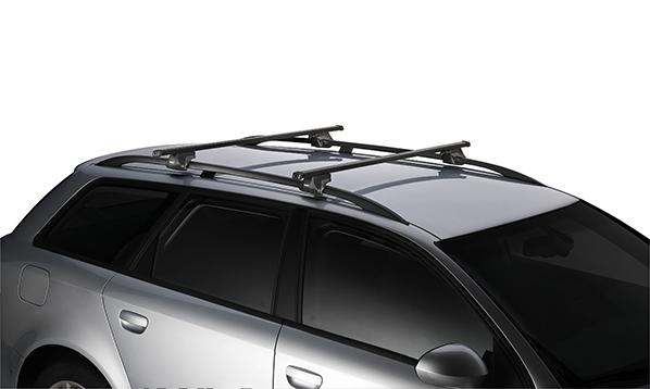 Багажник на рейлинги Thule Smartrack 784 (L=120 см)