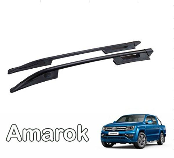 Рейлинги продольные AMAROK 10 > FALCON ROOF RAIL BLACK