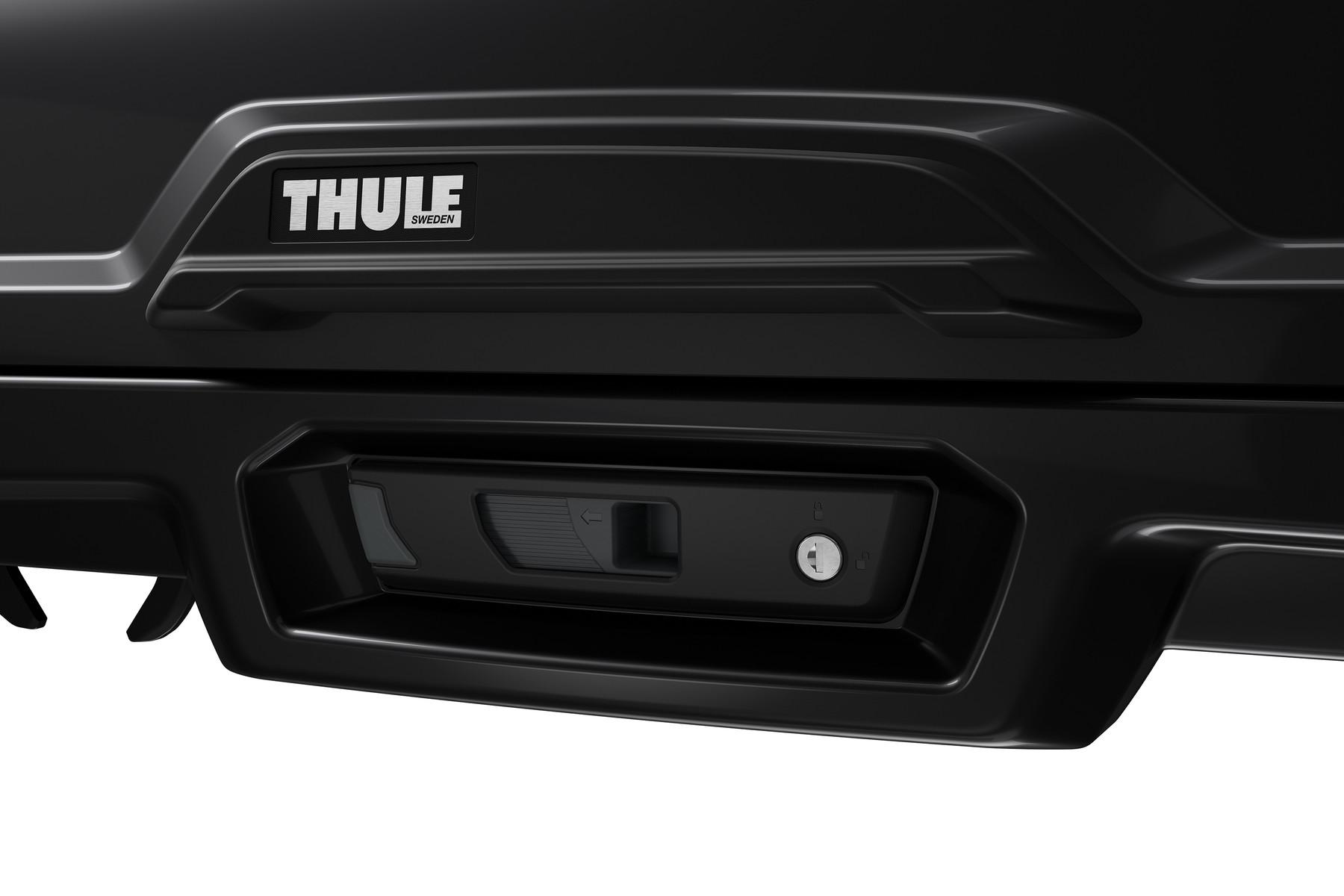 Автомобильный бокс Thule Vector M - Титановый матовый цвет ( Titan Matte )  ( 212 x 88 x 33 см ) - ( 360 литров ) - ( 613200 / 6132-00 / 6132-0 / 6132t )