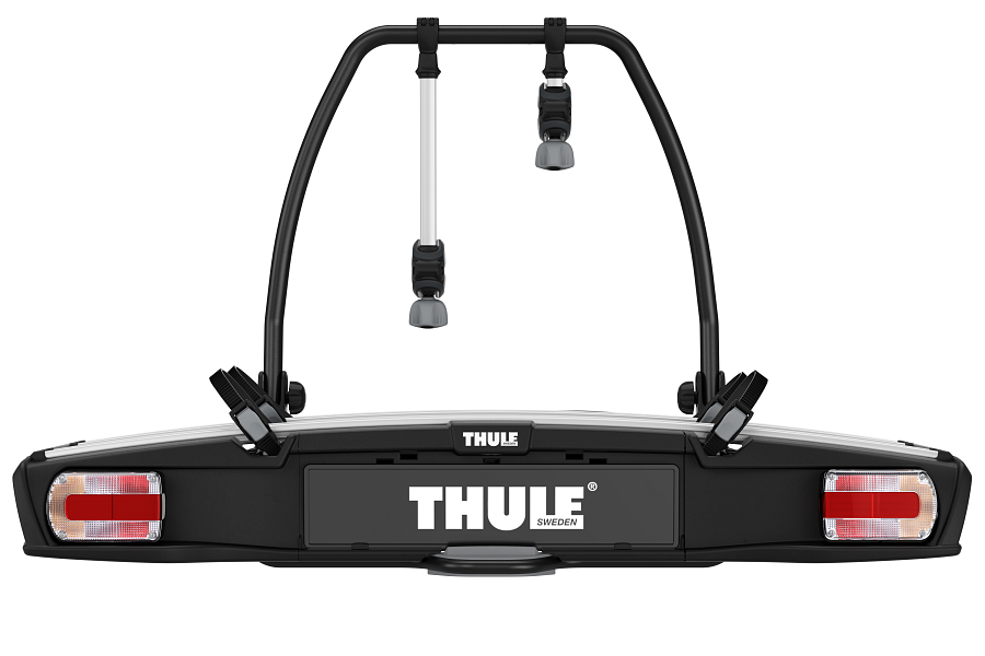 Велокрепление Thule VeloSpace 938 XT 2bike 13pin на фаркоп автомобиля