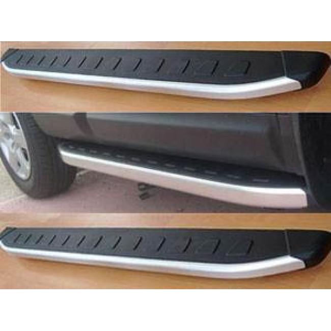 Пороги Can Otomotiv алюминиевые (Alyans) для Volkswagen T5,T6 корткая база 206 см