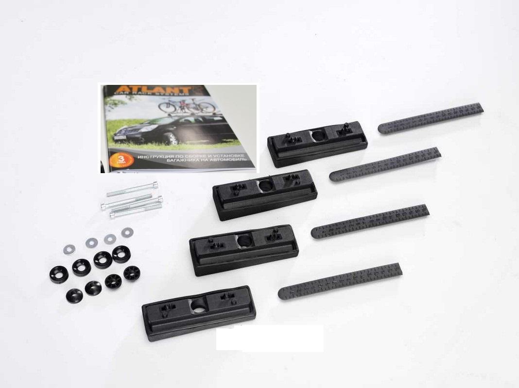 Комплект адаптеров Атлант 8737 FIAT Doblo Maxi, 4-дв.Van, 08-09 FIAT Doblo, 3-дв. Van, 00-03, 04-09 FIAT Doblo, 5-дв. Van, 00-03, 04-09