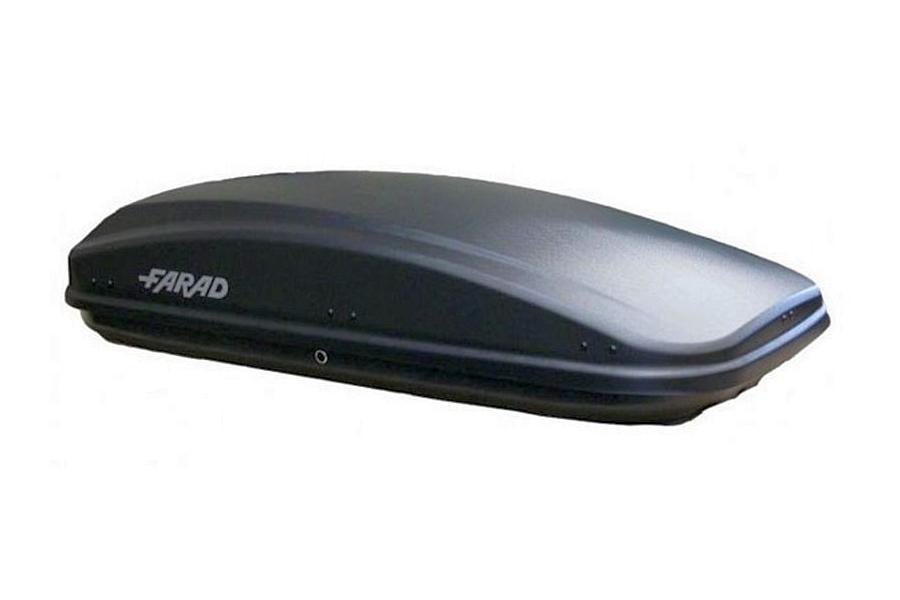 Автомобильный бокс FARAD CRUB N18 450l чёрный