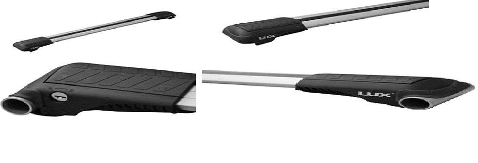 Багажник на рейлинги LUX Hunter L47-R ( Дуги серого цвета )