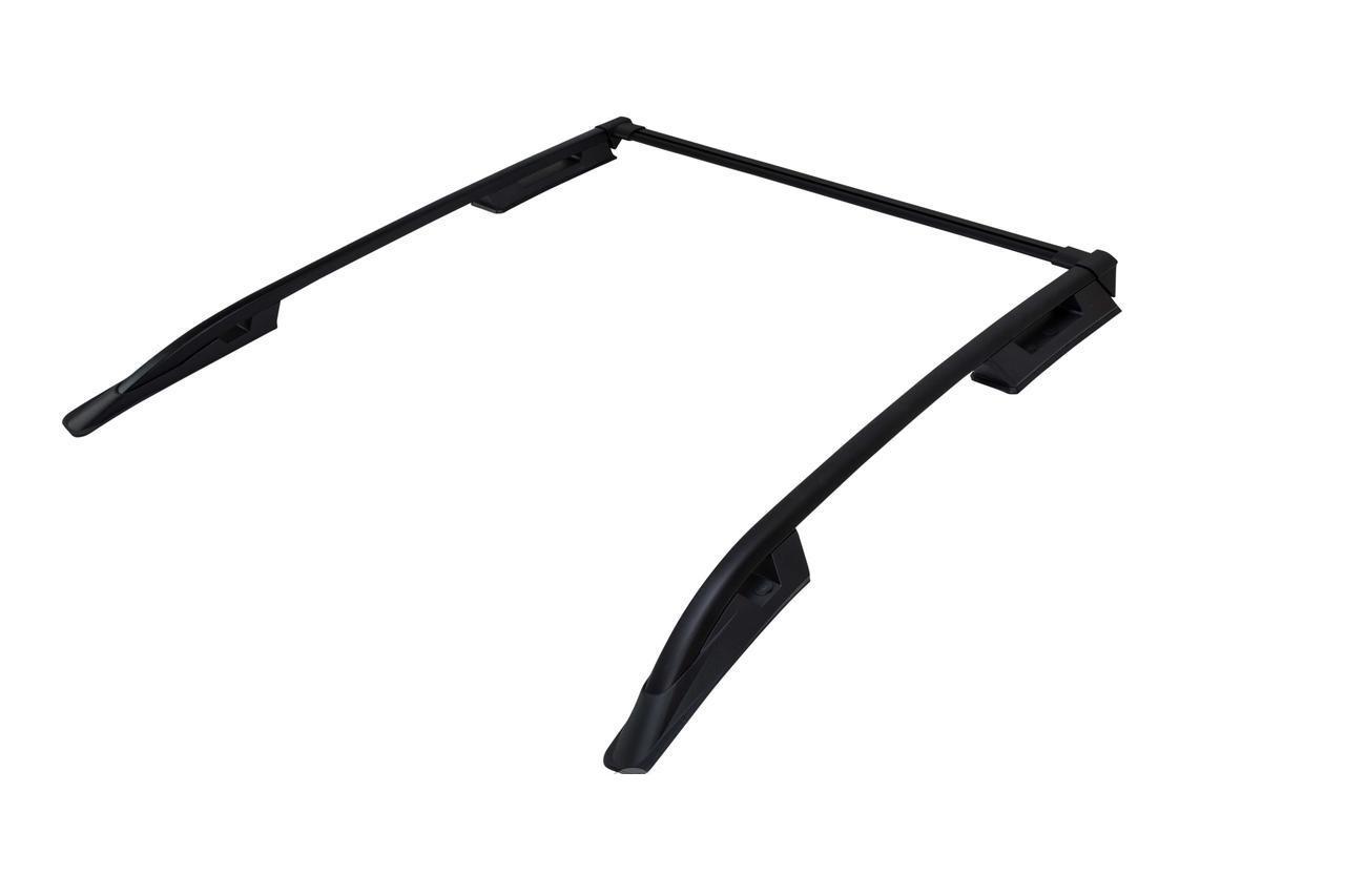Рейлинги Can Otomotiv TOHI.73.0010  продольные большие ( с поперечиной ) установка силикон( герметик ) для TOYOTA HILUX BLACK