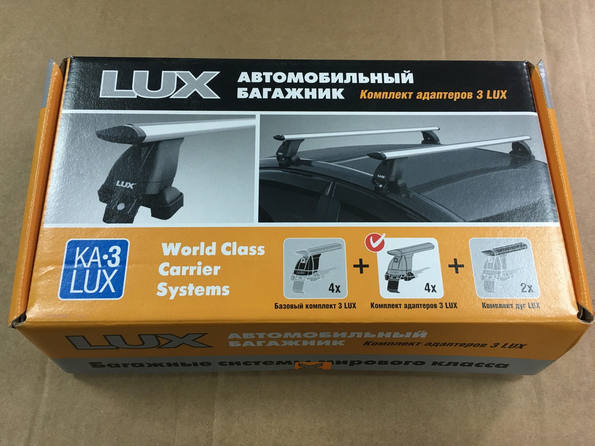 Комплект адаптеров 3 LUX Solaris17n (БК3)