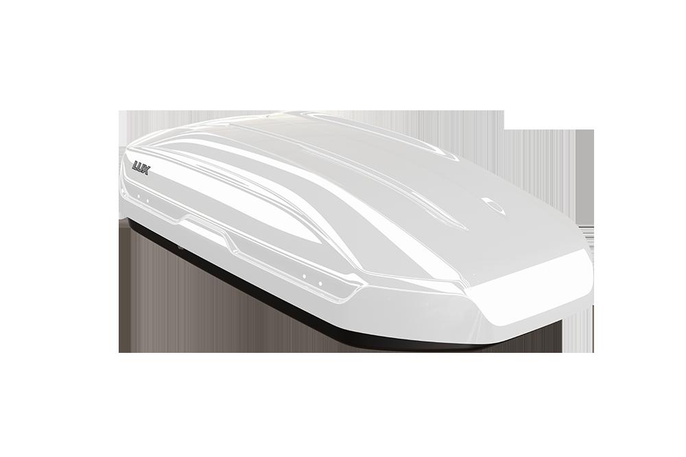 Автомобильный бокс LUX TAVR 175 Белый глянец 450L (1750х850х400) (арт. 791088)