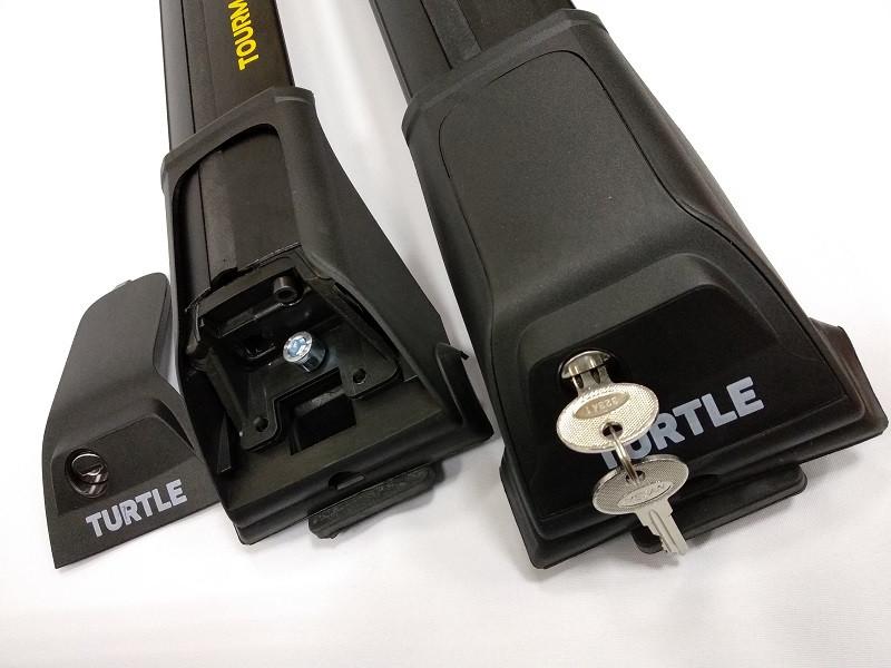 Багажная система на рейлинги Tourmaline V1 Black ( 106 )